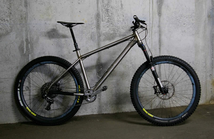 Titan titanium 26er hardtail mountain bike
